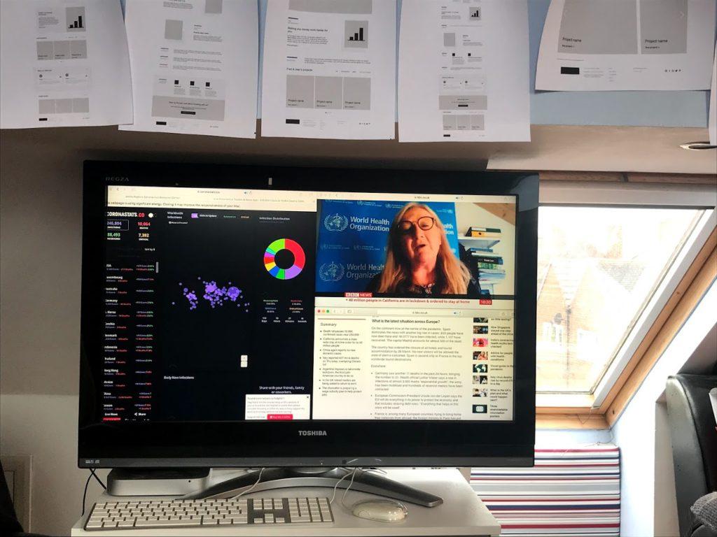 Noble Digital real-time data dashboard coronavirus covid-19