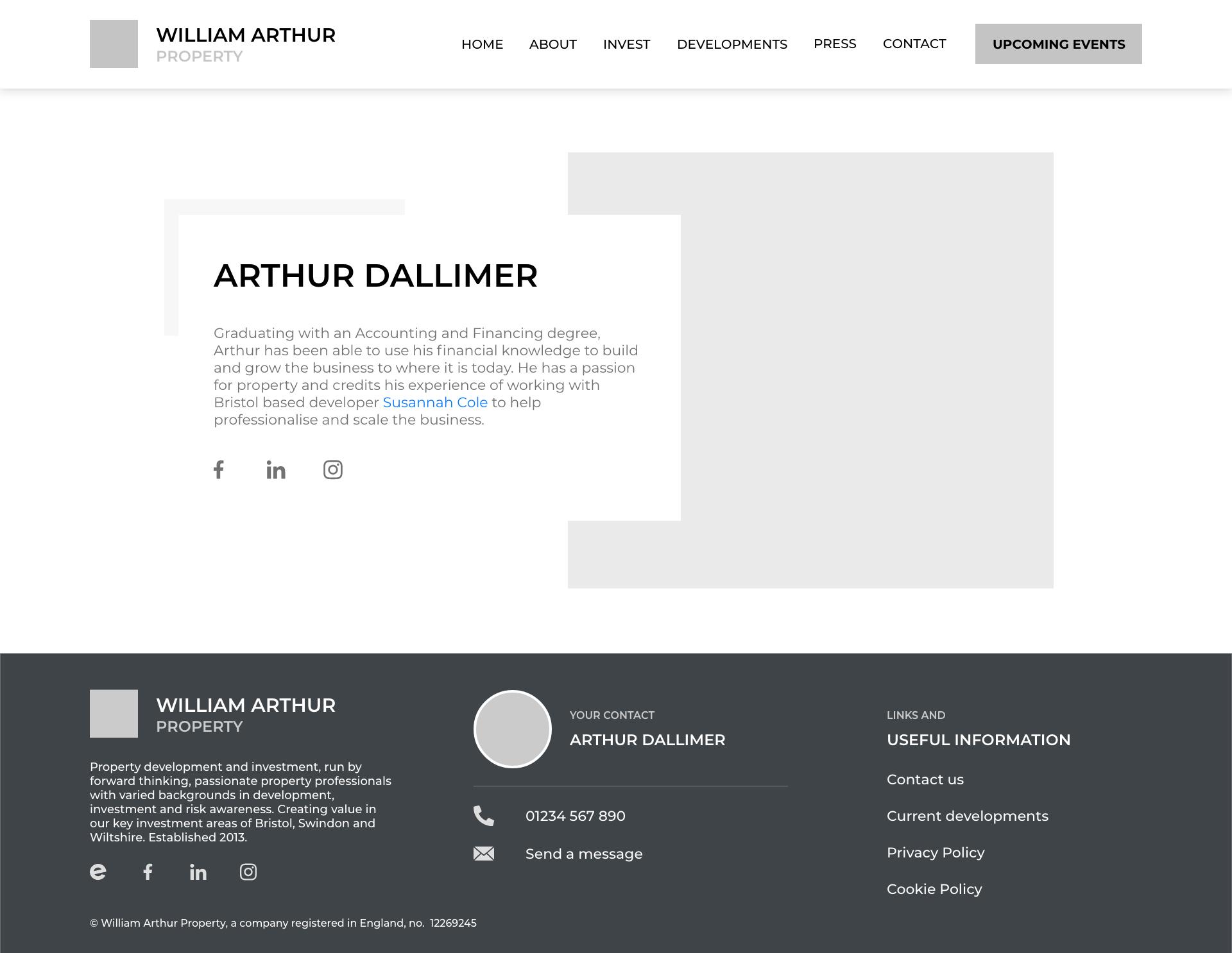 William Arthur - 111 - Team Member