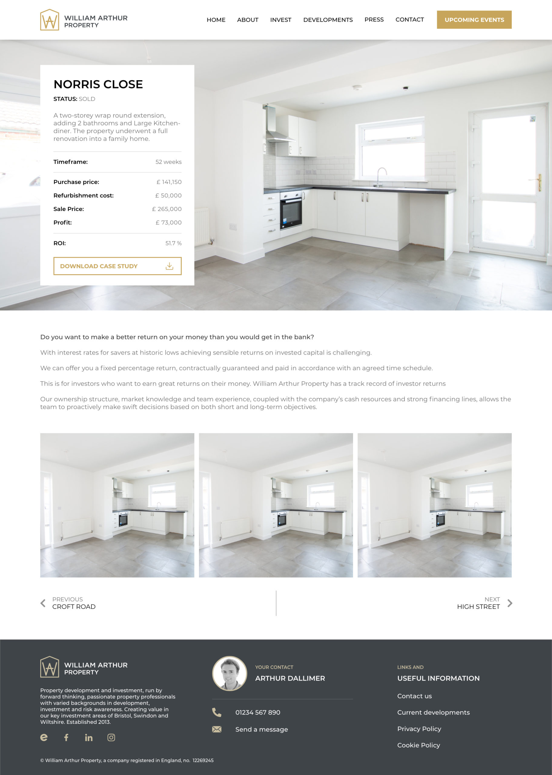 William Arthur - D121 - Property - Success